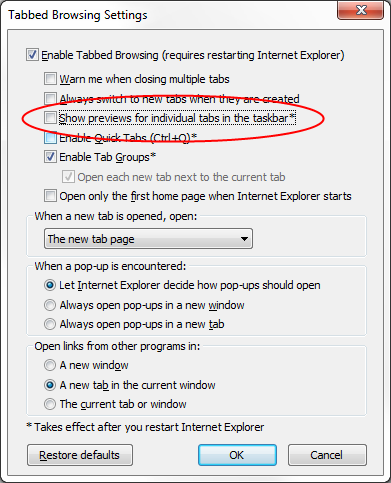 Two settings in IE9 I always turn off – justinmchase